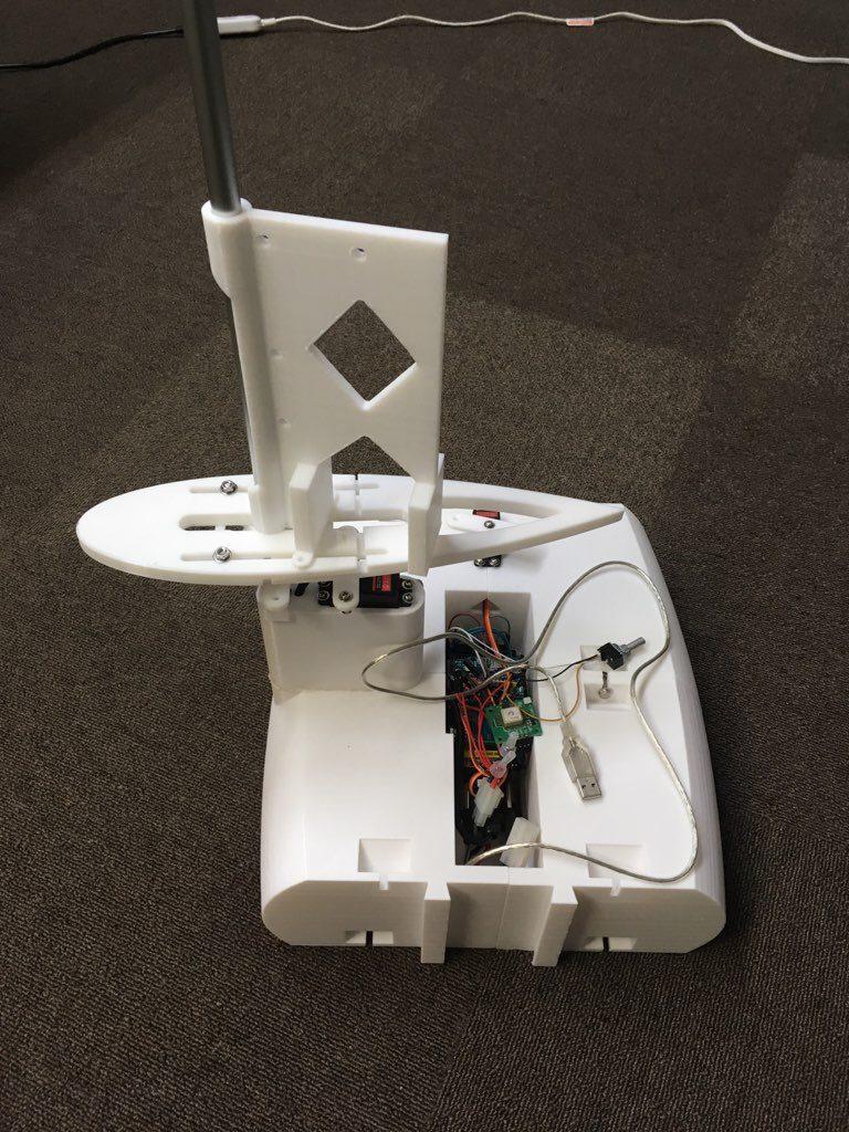 ヨット型ドローン(製作中)