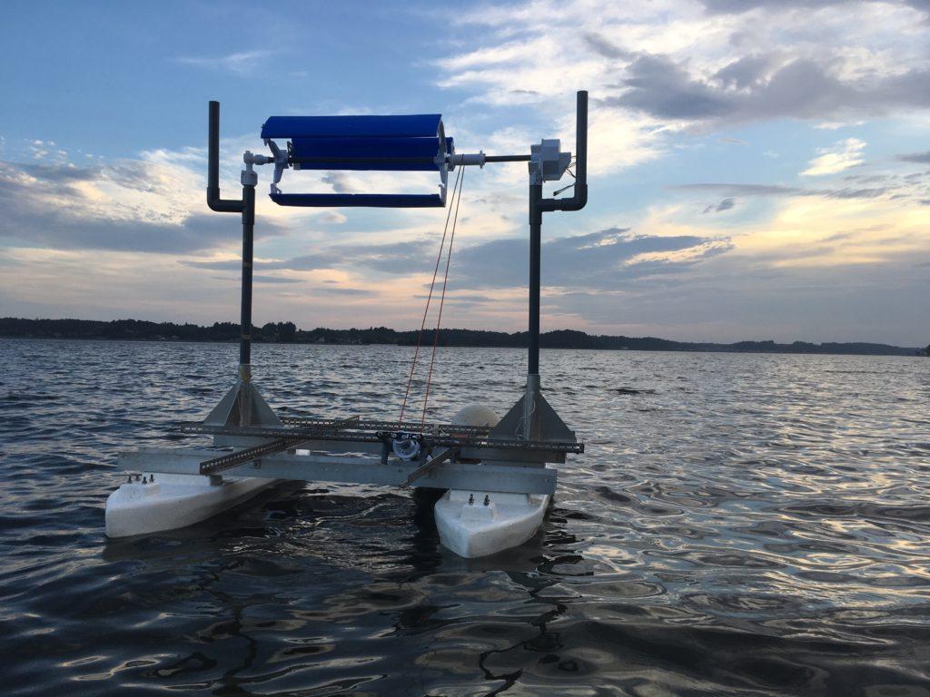 浮体式風車の画像